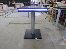 MOD-1436 Charging Table with Wireless/Wired Ports, Graphics, and LED Perimeter Lights